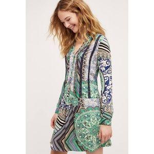 | Anthropologie | Tiny Caviana Shirt Dress